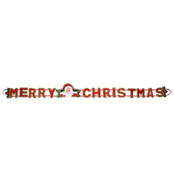 Unique Bargains Merry Christmas Character Decor Hanging Belt Strap for Home Xmas Tree Ornament