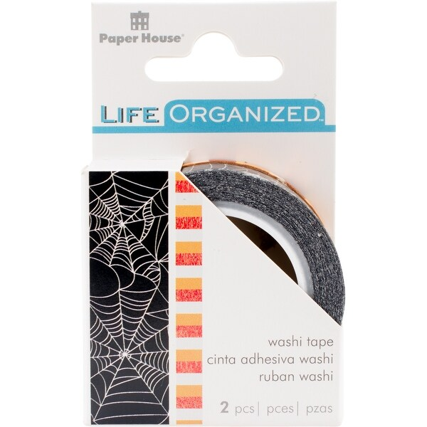 Shop Paper House Life Organized Washi Tape 5Mm & 15Mm 10M