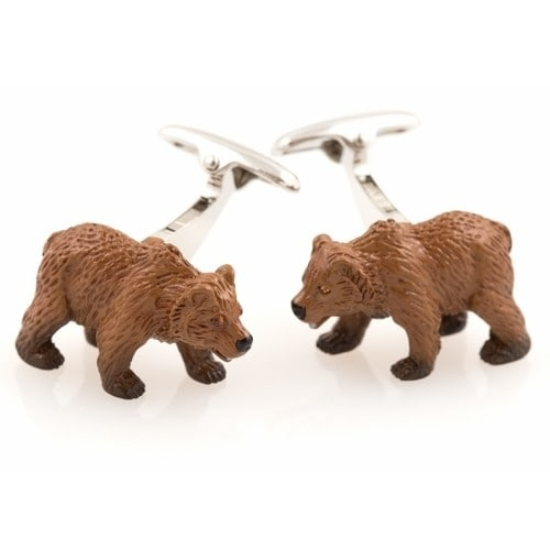 Bear Animal Cufflinks
