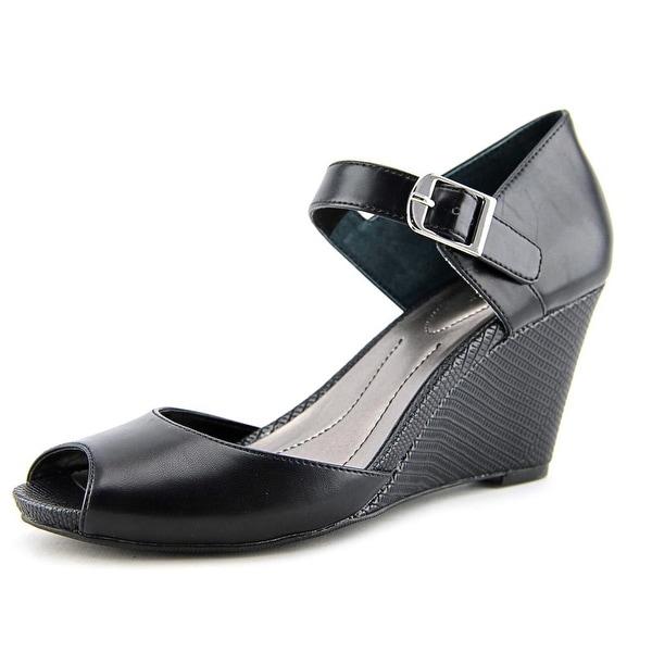 Style & Co Bessye Women Open Toe Synthetic Wedge Heel