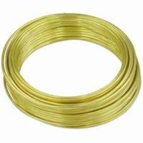Hillman 50152 22-Gauge Wire 75/' Brass Plated
