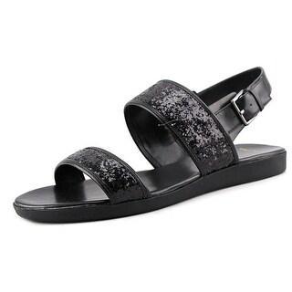 Cole Haan Korban Sandal.II Open-Toe Synthetic Slingback Sandal