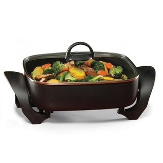 "West Bend 72212 Deep Skillet, Non-stick, 12"" x 12"" x 3"""