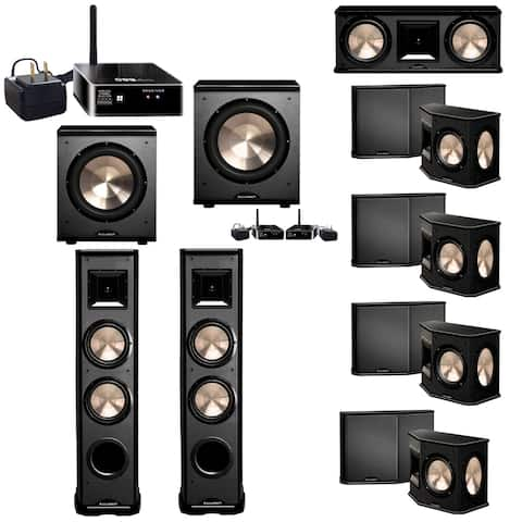 BIC Acoustech 7.2 System w/ 2 PL-89 II Speakers, 1 PL-200 Wireless Subwoofer, 1 PL-200 Subwoofer, Wireless Receiver Add on