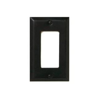 Deltana SWP4754 Single GFI Switch Plates - satin nickel