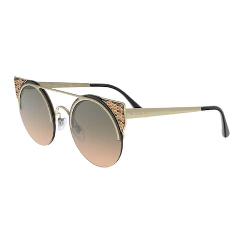 Bulgari BV6088 202218 Matte Pale Gold Cat eye Sunglasses - 54-20-150