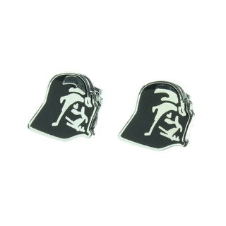 Star Wars Darth Vader Enamel Stud Earrings