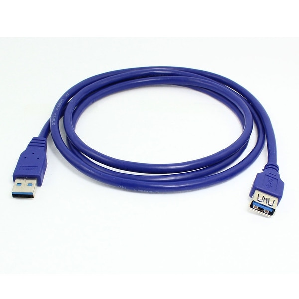 Unique Bargains USB 3.0 Male to Female Extension Cable Cord 150cm 4.9 Feet
