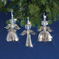 Vintage Angels Makes 3 - Holiday Beaded Ornament Kit