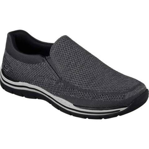 6e94a635cc4336 Skechers Men s Relaxed Fit Expected Gomel Slip-On Sneaker Gray
