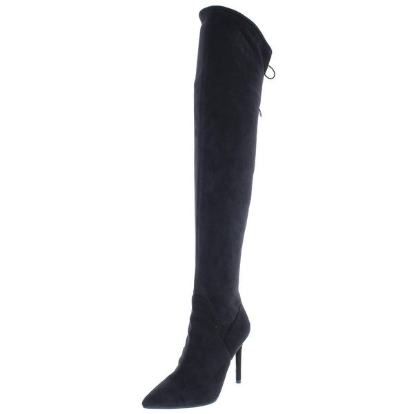 e3b11514041e Shop Jessica Simpson Womens Lessy Over-The-Knee Boots Pointed Toe ...