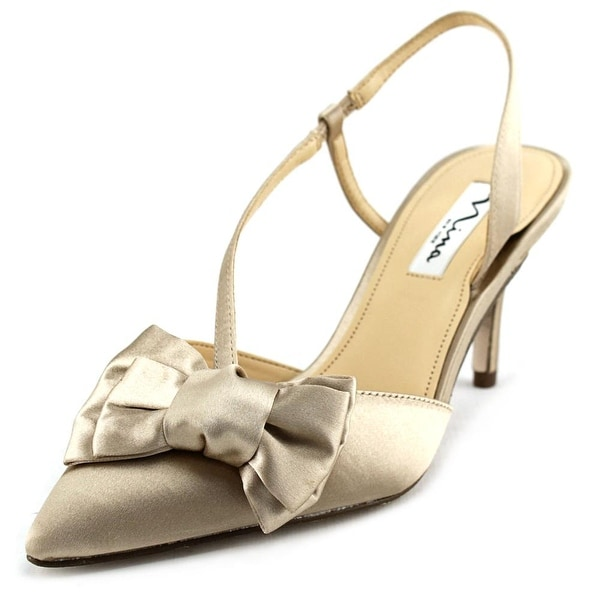 Nina Teddi Women Open Toe Canvas Gold Sandals