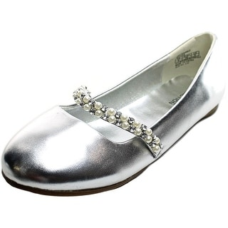 Kenneth Cole Reaction Tap Sparkle Youth Round Toe Synthetic Flats