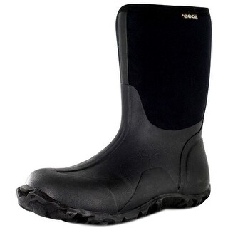 """Bogs Boots Mens 10"""" Classic Mid Rubber Farm Waterproof 61142