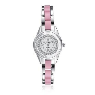 Petite Pink & White Gold Automatic Watch