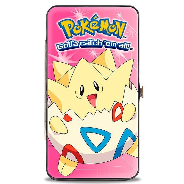 Pokmon Togepi Pose Pinks Hinged Wallet - One Size Fits most
