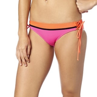 Fox Racing 2016 Women's Victory Lace Up Side Tie Bikini Bottom - 15612 - FUCHSIA