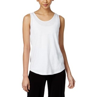 MICHAEL Michael Kors Womens Tank Top Knotted Open Back