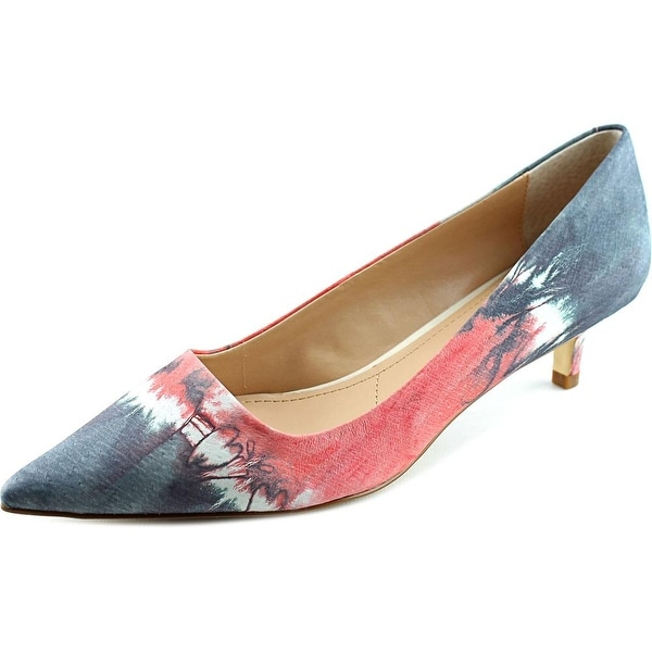 Charles By Charles David Drew Women Pointed Toe Leather Gray Heels