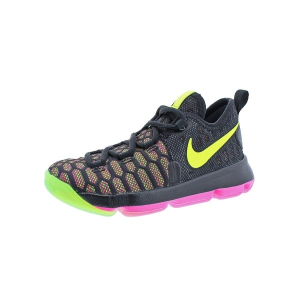 new arrival b9467 e4b2d ... purchase nike girls kd9 basketball shoes little kid lightweight 7ee1b  4bd5f