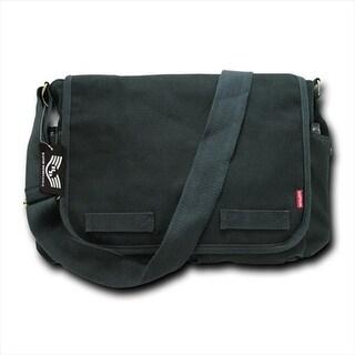 Rapid Dominance R31-BLK Classic Military Messenger Bags, Black
