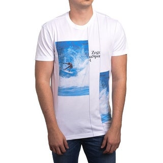 Zegna Sport Ermenegildo Zegna Men's Surf Tee T-Shirt Organic Cotton