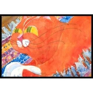 Carolines Treasures 6033JMAT 24 x 36 in. Cat Indoor Or Outdoor Mat