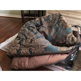 Gracewood Hollow Koryun Emerald Jacquard Comforter Set