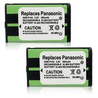 Replacement Panasonic HHR-P104 NiMH Cordless Phone Battery (2 Pack)