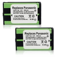 Replacement Panasonic KX-TG2344B NiMH Cordless Phone Battery (2 Pack)