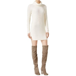 Kensie Womens Sweaterdress Knit Turtleneck