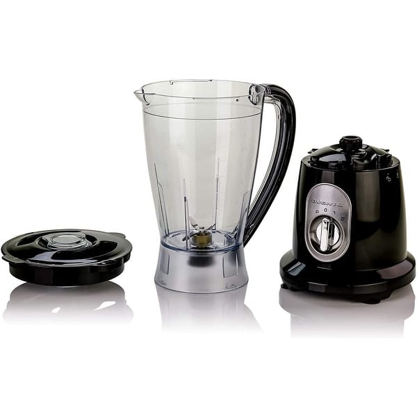 Ovente Electric Professional 50 Ounce Countertop Blender Black Blh1602b Overstock 30410239