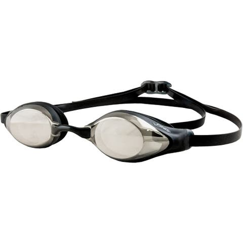 FINIS Strike Low-Profile Competition Racing Goggles - Silver Mirror - One Size