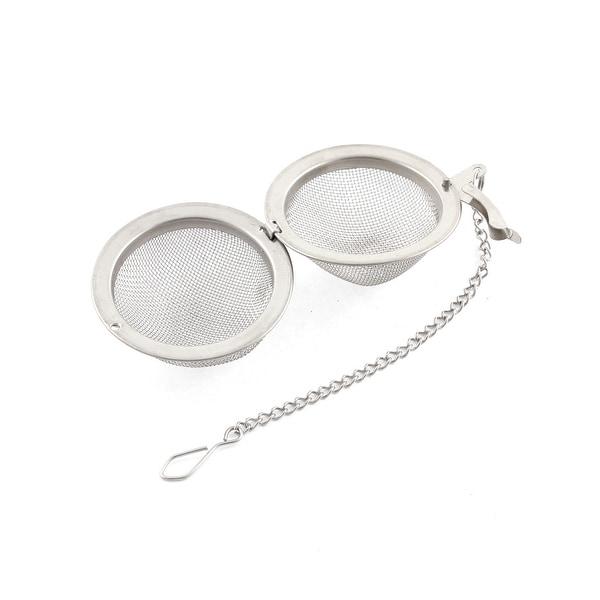 Stainless Steel Locking Spice Tea Ball Strainer Mesh Infuser Coffee Tea Filter