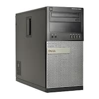 Dell Optiplex 9020-T Core i5-4690 3.5GHz 8GB RAM 500GB HDD DVD-RW Windows 10 Pro PC (Refurbished)