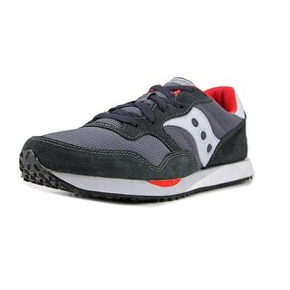 Saucony Dxn Trainer Men  Round Toe Suede Black Sneakers