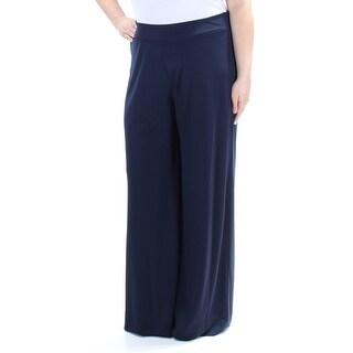 TOMMY HILFIGER $70 Womens New 1423 Navy Wear To Work Pants XL B+B