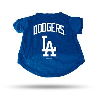 Los Angeles Dodgers Pet Tee Shirt Size M
