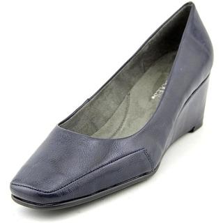Aerosoles Barecuda W Open Toe Synthetic Wedge Heel