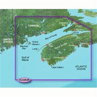 Garmin VCA004R - Bay of Fundy - SD Card