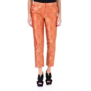 Elizabeth and James Womens Anselm Metallic Jacquard Trouser Pants