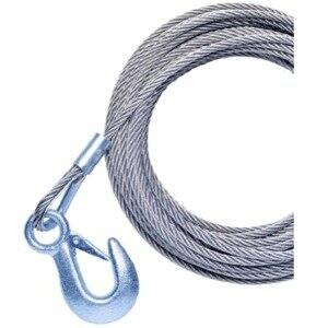 Powerw Inch 46087S Powerw Inch P7188500AJ 20' Galvanized Cable with Hook