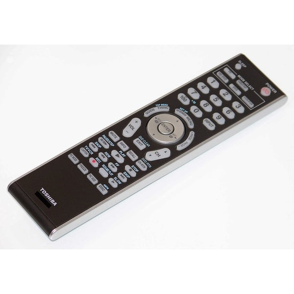 OEM Toshiba Remote Control Originally Shipped With: 40XF550, 40XF550U, 42XV540, 42XV540U, 46XF550, 46XF550U
