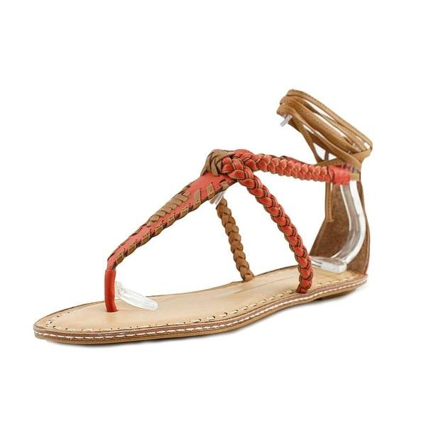 Dolce Vita Keoni Women Open Toe Synthetic Orange Sandals