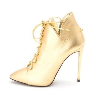 Giuseppe Zanotti Womens I 47019 OLIANDA110 Leather Pointed Toe Ankle Fashion ... - 9.5