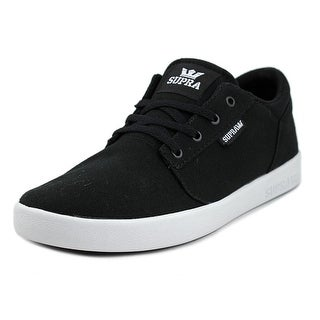 Supra Yorek Low Round Toe Canvas Tennis Shoe