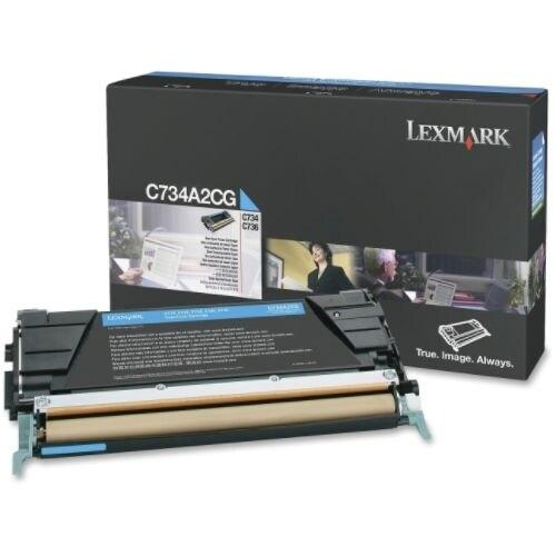 Lexmark Toner Cartridge - Cyan C734A2CG Toner Cartridge - Cyan