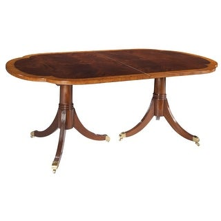 Hekman 22520 Copley Place 76 Inch Wide Wood Dining Table with Leaves - N/A