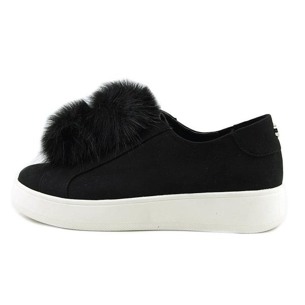 Steve Madden Womens Furlie Fabric Low Top Slip On Fashion Sneakers