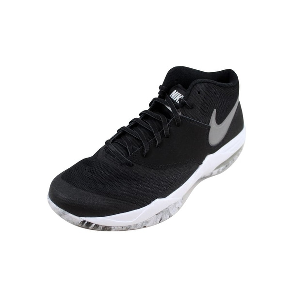 b0ffbcb030a Shop Nike Men s Air Max Emergent Black Metallic Silver-White nan ...